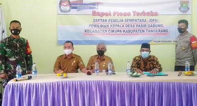 Pilkades Serentak 2021, Data Pemilih Sementara Desa Pasir Gadung Mencapai 9.756