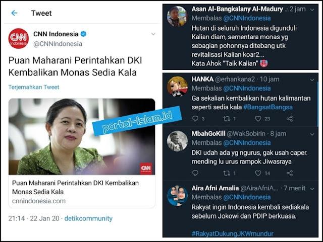 """Ikut Campuri DKI, Puan Maharani """"Ditawur"""" Warganet"""