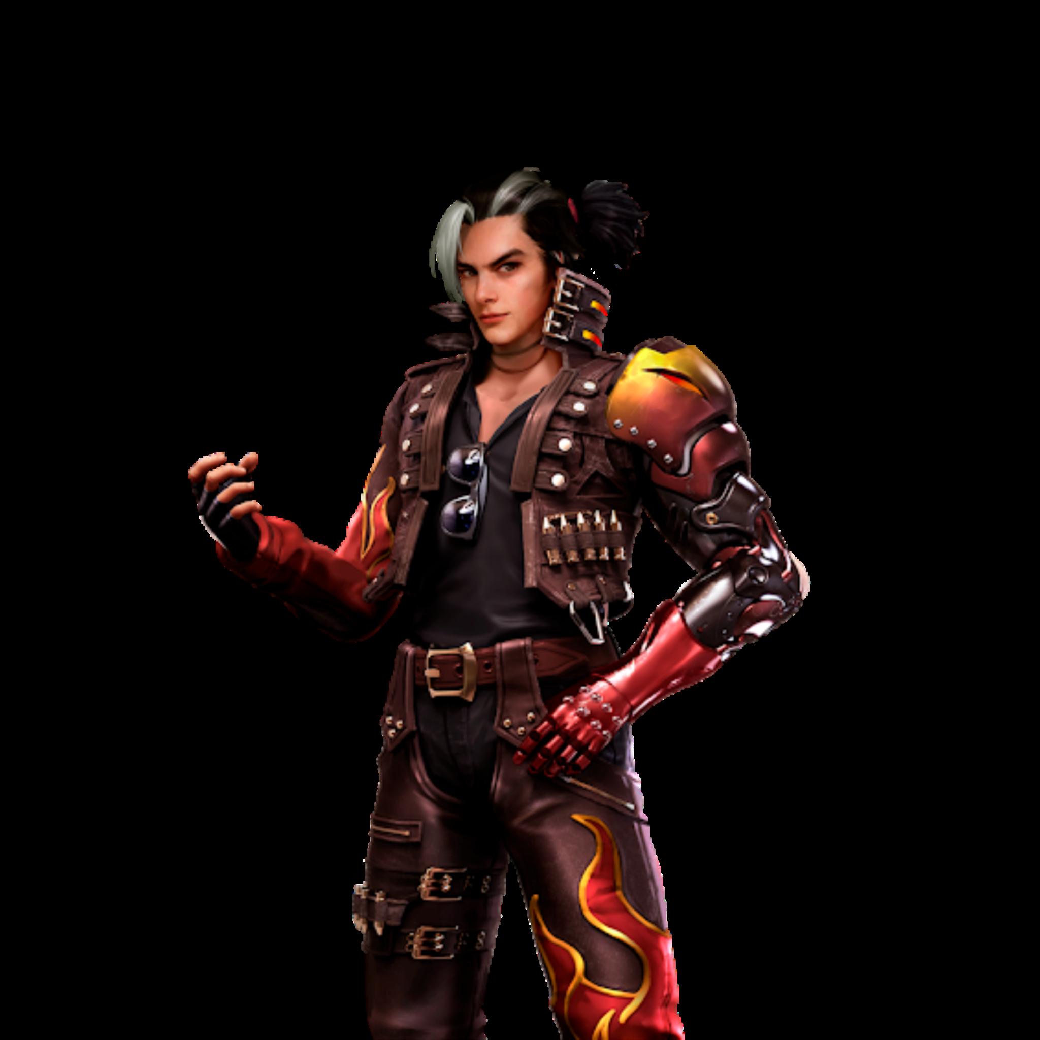 Free fire :skin personajes en png