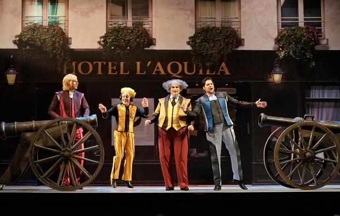 האופרה לה גאזטה לראשונה בבית האופרה בתל אביב