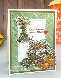 I personally believe that if you plant kindness you will harvest love in return!  My card today is all about that!  Click to learn more