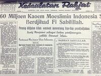 Inilah Headline Seruan Jihad di Koran Kedaulatan Rakyat 1945