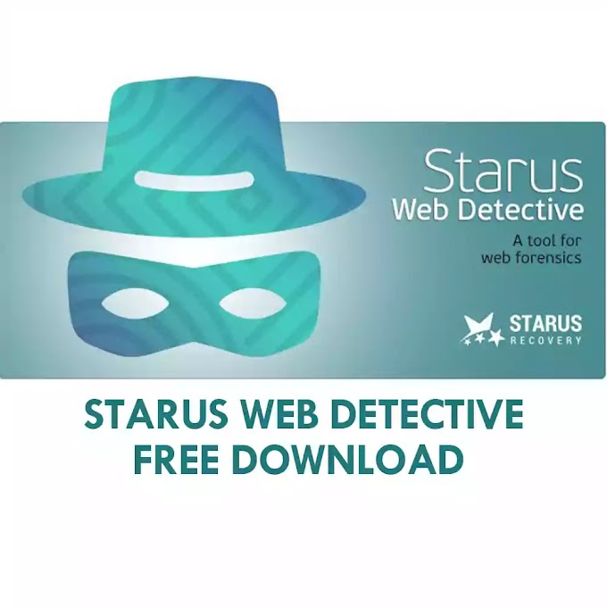 Starus Web Detective Download for Free