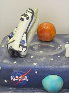 bolo espaço foguetão planetas nasa bragança