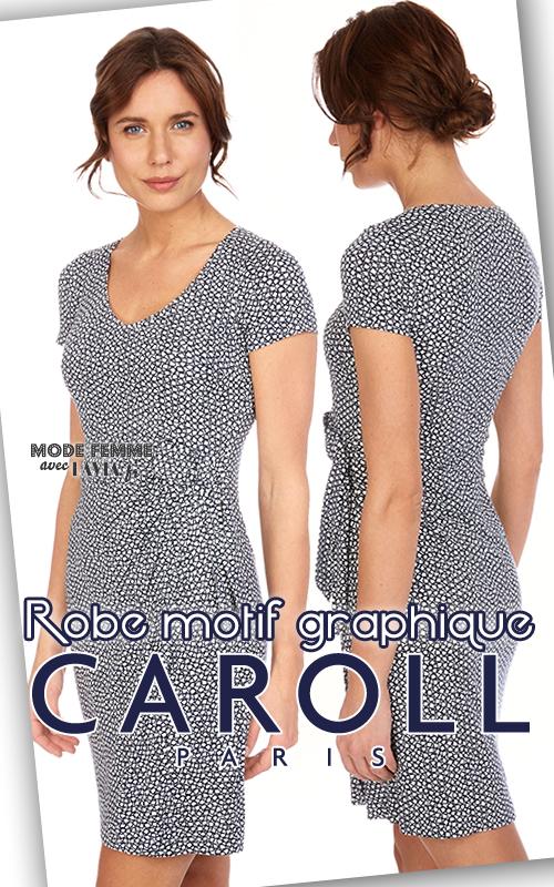 6aff8326469 robe femme caroll