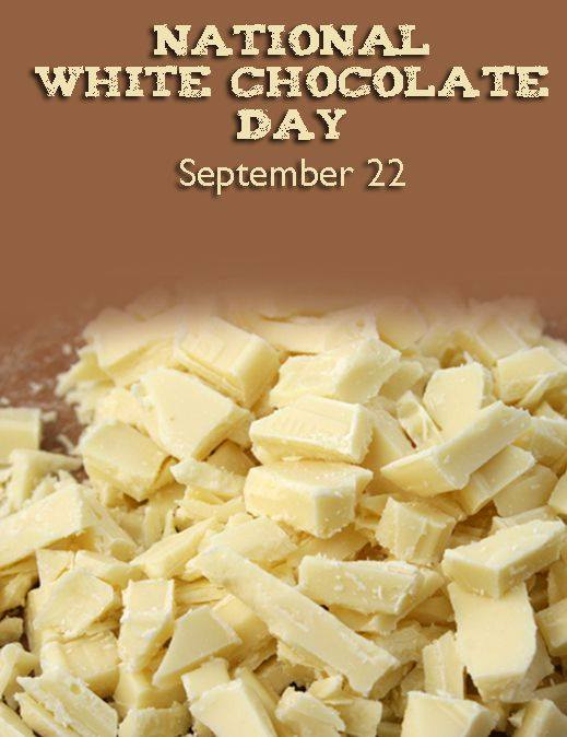 National White Chocolate Day Wishes Photos
