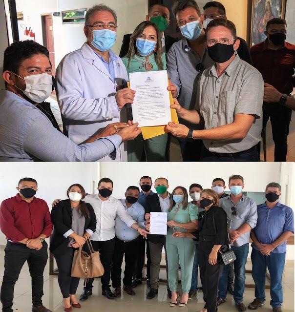 Vereadores de Patos-PB solicitam do Ministro da Saúde construção do Hospital de Trauma do Sertão e do Cento de Imagem com Radioterapia