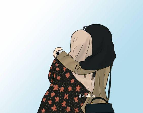 Download Gambar Kartun Muslimah Terbaru 2020 Gambar Kartun Muslimah