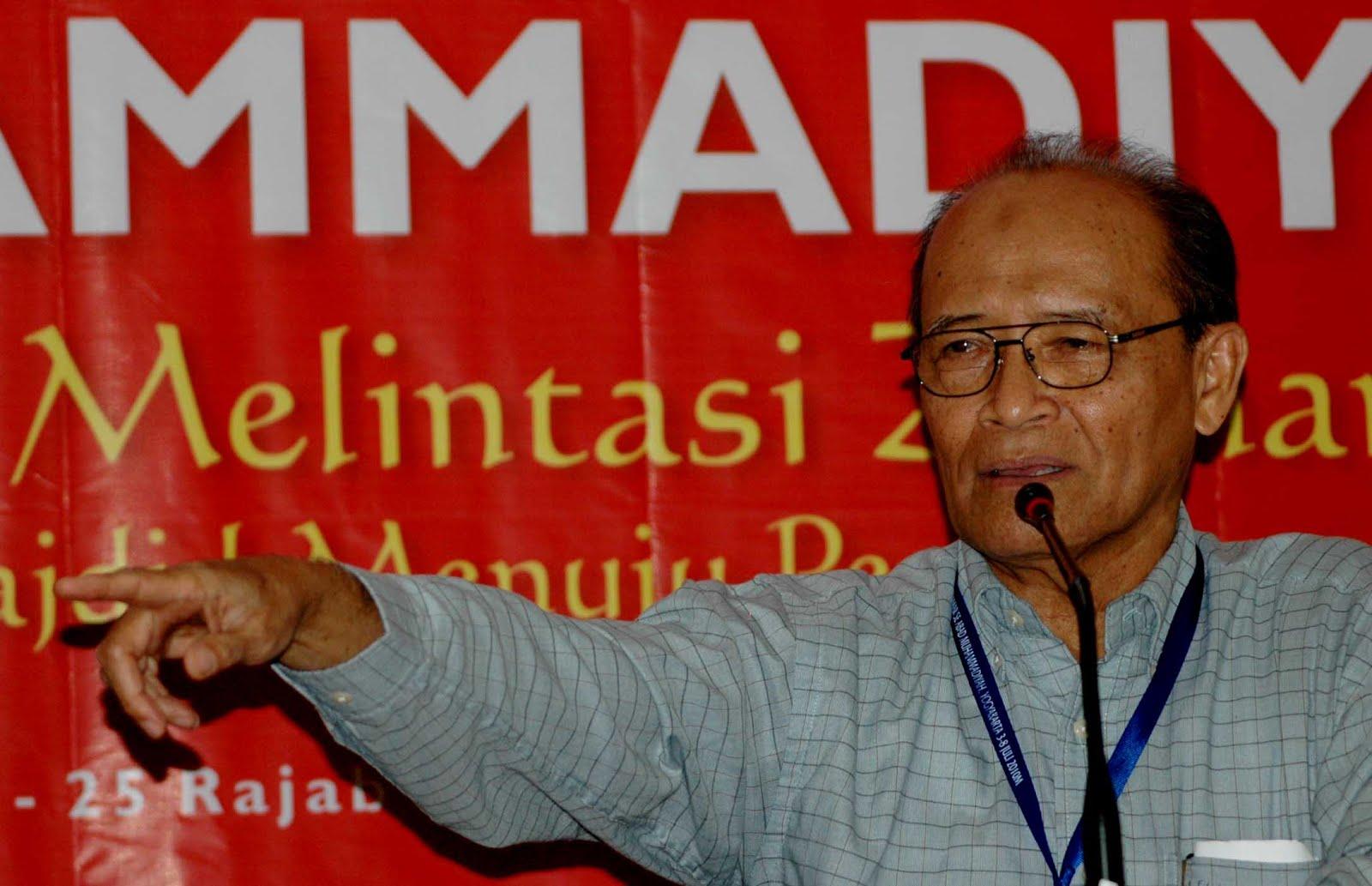Jokowi Kunjungi Madrasah, Ini Komentar Syafii Maarif