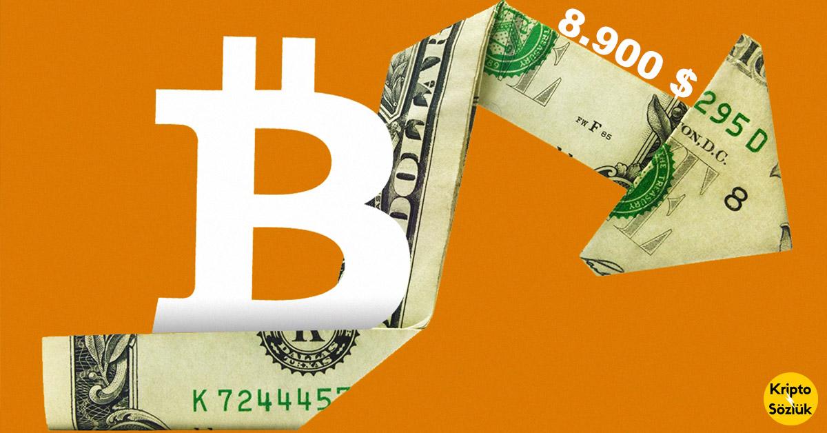 Bitcoin 10.100 Dolarken Kripto Sözlük 8.900 Düşüşünü Açıklamıştı!