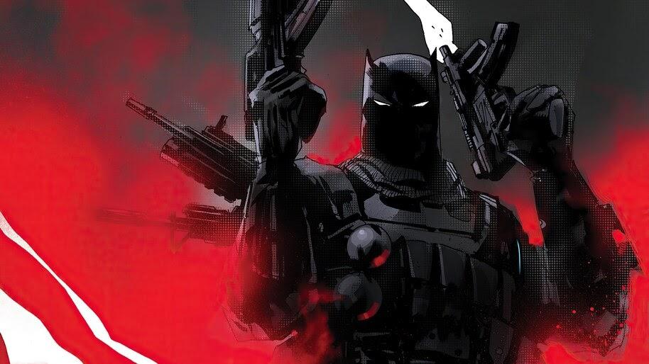 Batman, With Guns, The, Grim, Knight, 4K, #6.2054
