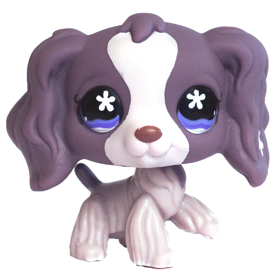 Littlest Pet Shop 3-pack Scenery Spaniel (#672) Pet ...