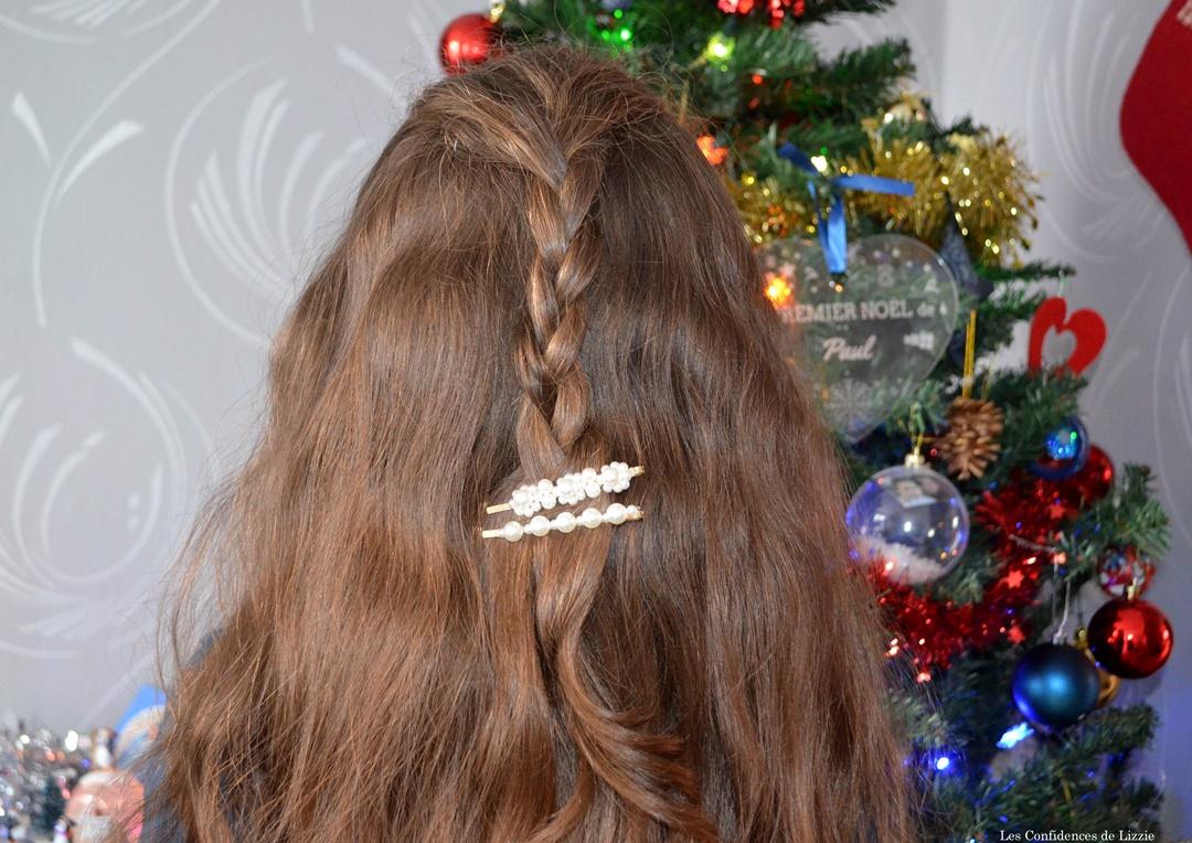 coiffure-simple-fille-pinces-cheveux