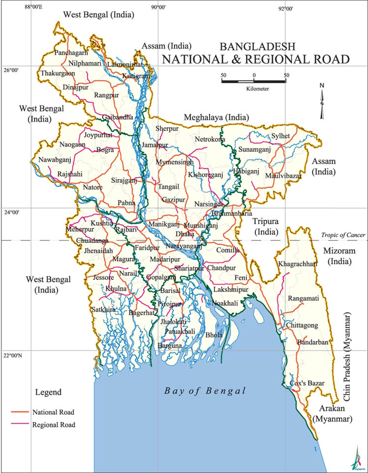 National Regional Road Map Bangladesh