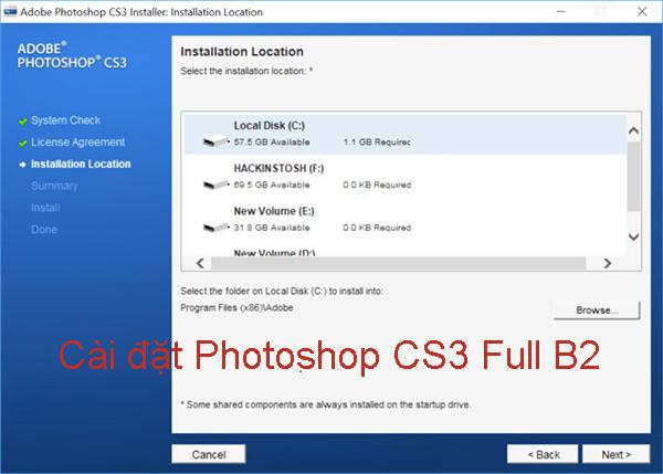 Hướng dẫn cài đặt Photoshop CS3 Full đơn giản, nhanh chóng b