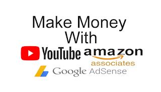 Menghasilkan Uang dengan Youtube, Amazon dan Adsense di tahun 2018