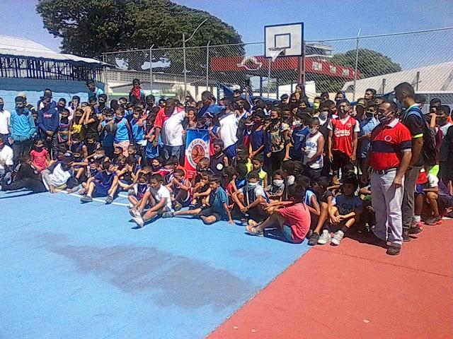 APURE: Legends Apure Baloncesto dio comienzo a su proyecto Legends Kids con una participación masiva.