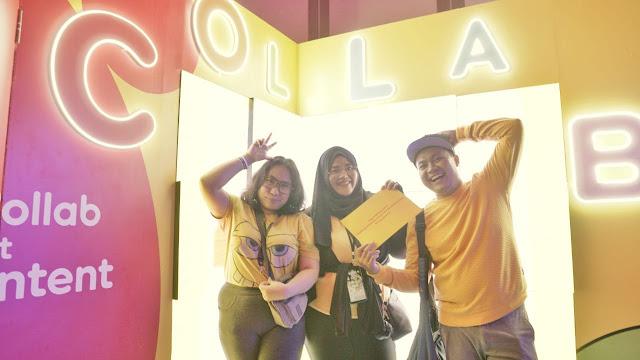 Booth Im3 Ooredoo Fanfest 2019 Yogyakarta