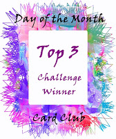 DAY OF THE MONTH CARD CHALLENGE