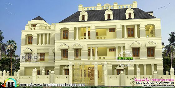 8 bedroom super luxury Colonial home with lift