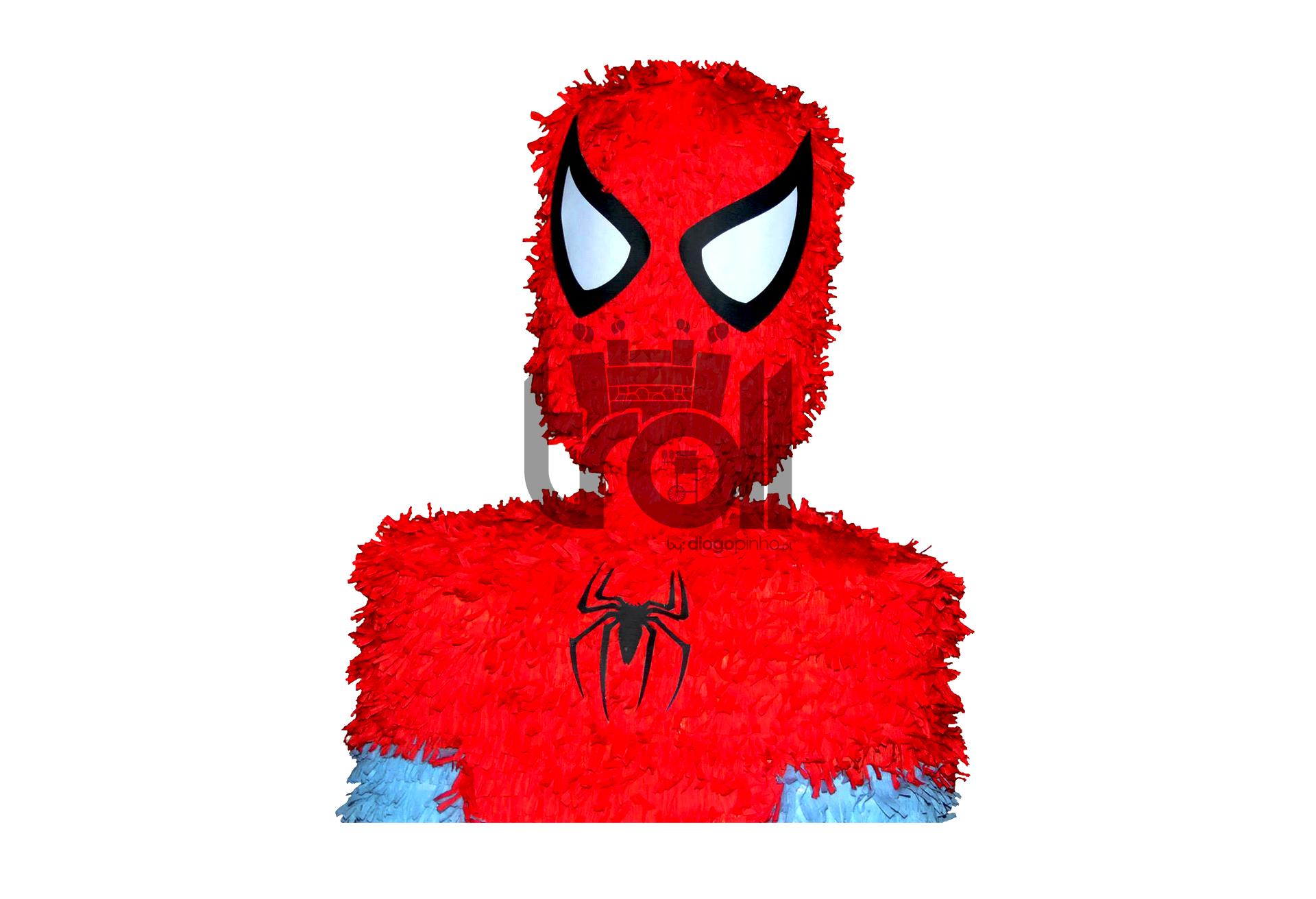 Pinhata Spiderman | Troll - Soluções para eventos