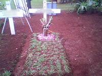 Posisi Tulisan Yang Benar Pada Kayu Salib Di pemakaman