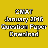Cmat Question Paper With Solution Pdf