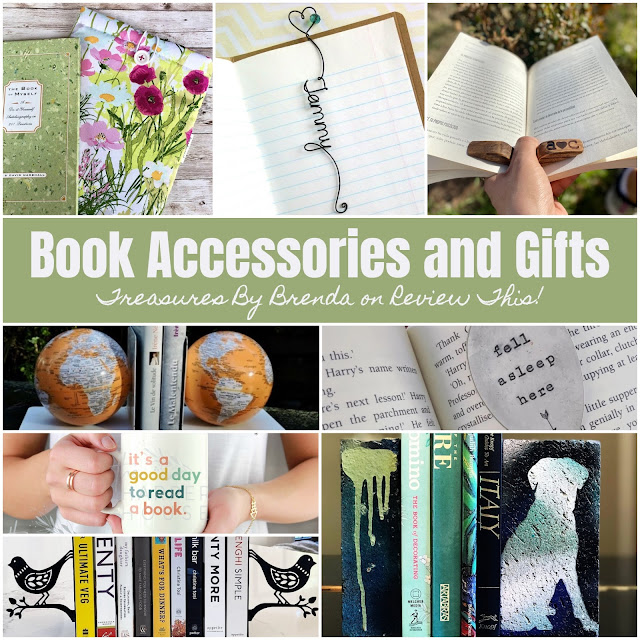 A page full of fun and fabulous book accessories and gift ideas for friends, family and yourself!