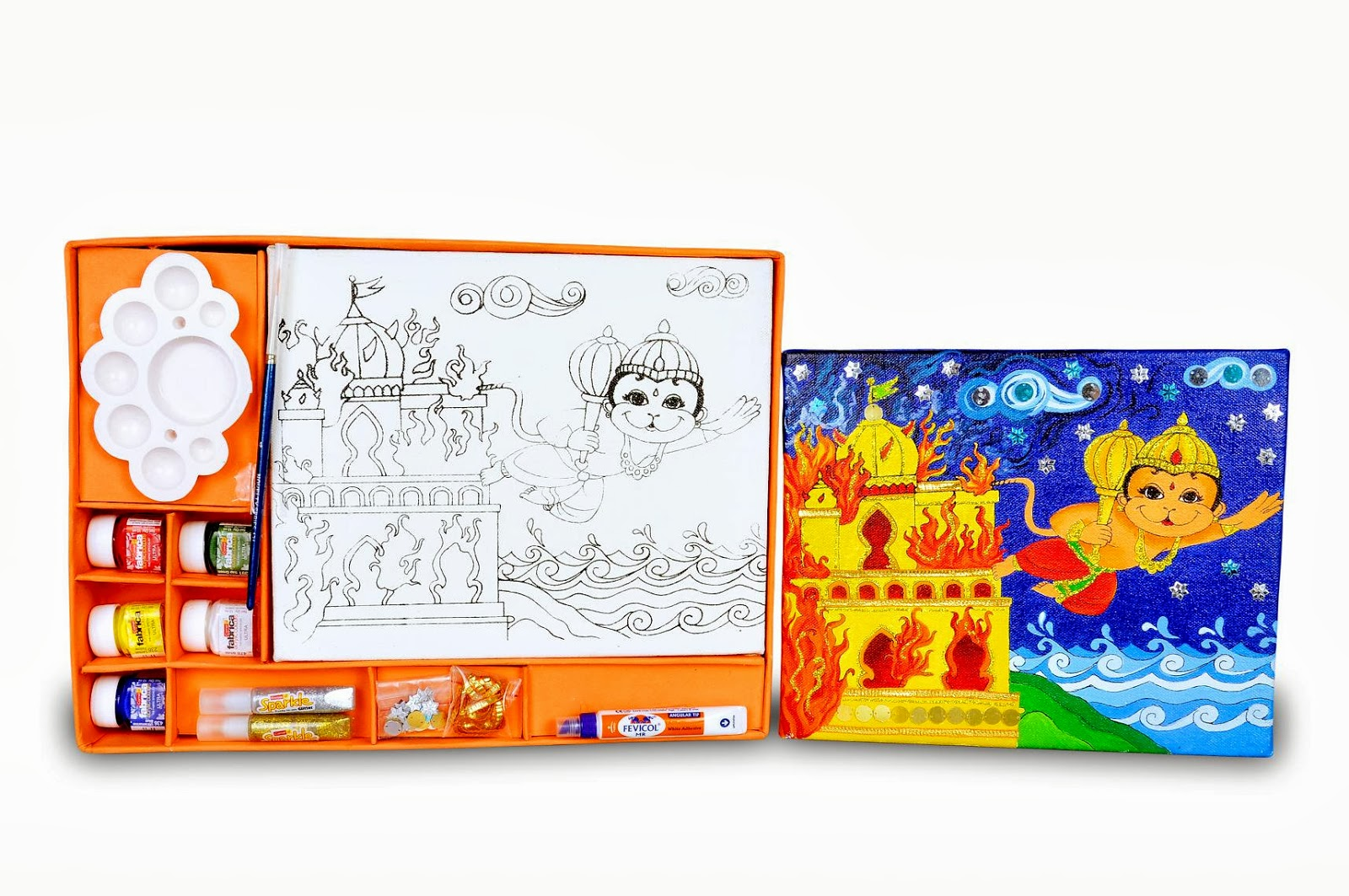 Dussehra crafts - to recreate ramayana - Artsy Craftsy Mom