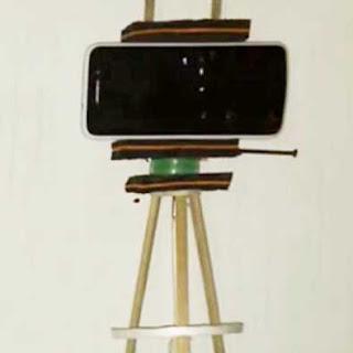 Membuat Tripod dari Bambu dan Sandal Bekas