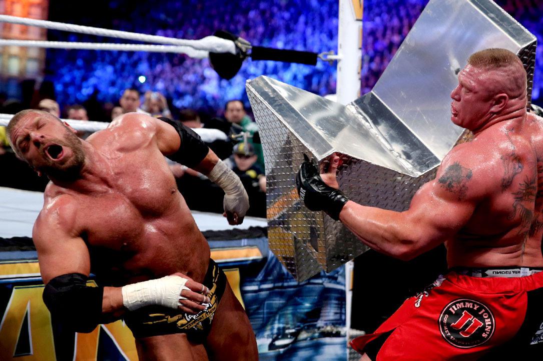 Triple H: Brock Lesnar azt csinálja, amit Brock Lesnar akar
