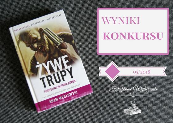 """WYNIKI KONKURSU """"Żywe trupy"""" Adam Węgłowski"""