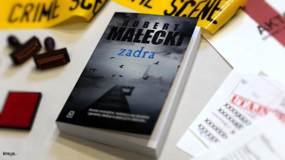 Zadra Robert Małecki książki