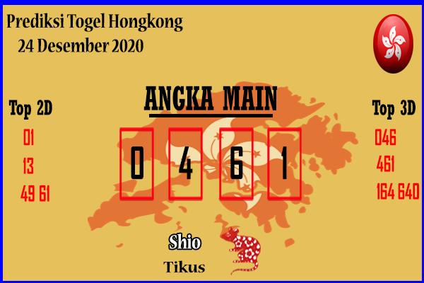 Bocoran Hongkong 24 Desember 2020