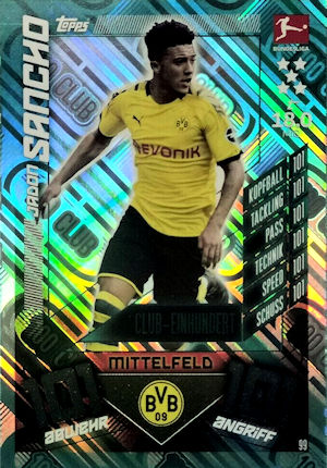Match Attax 2019 2020 19 20 159-Pavel kaderabek