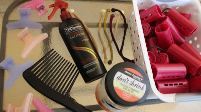 Natural Hair Roller Set Heat Protectant Rollers