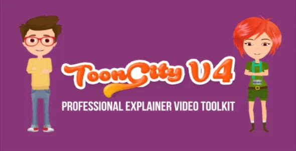 VIDEOHIVE EXPLAINER VIDEO TOOLKIT | TOON CITY 4