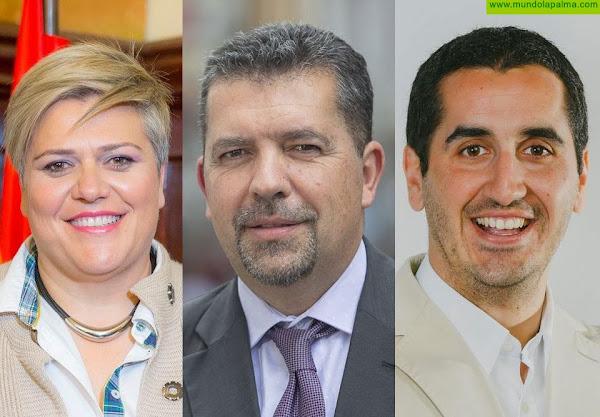 Noelia García Leal, Juanjo Cabrera y Borja Pérez Sicilia participan en la reunión Intermunicipal del PP de Canarias