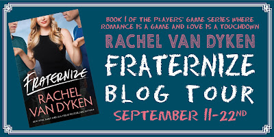 Fraternize Blog Tour banner