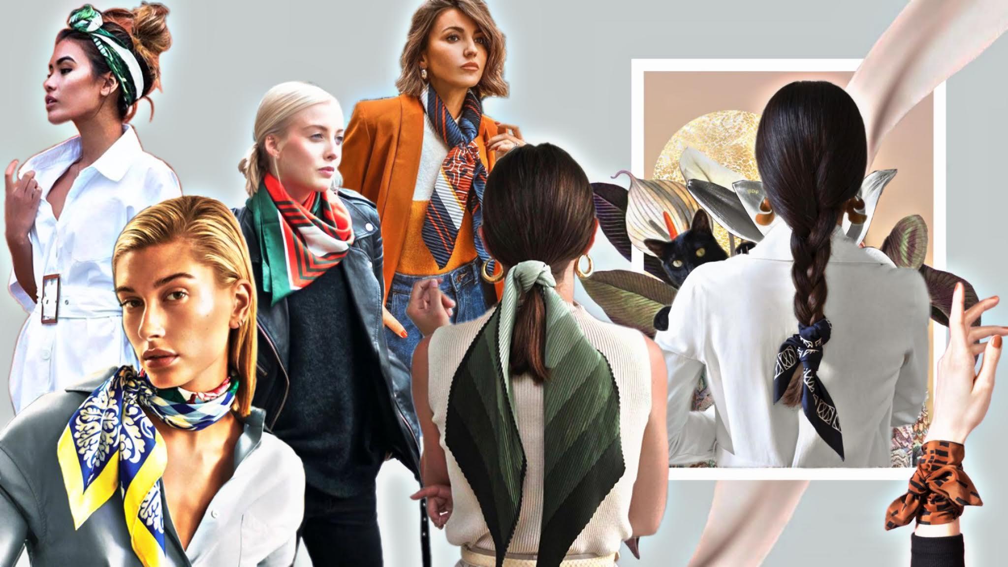 14 formas de llevar un pañuelo