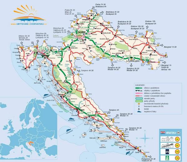 Kroatien Geografiske Kort Over Kroatien Global Encyclopedia