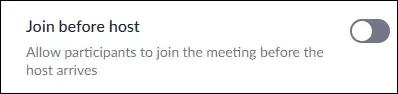 بدء الاجتماع قبل وصولك