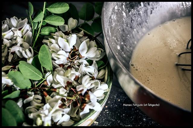 pate fleurs acacia