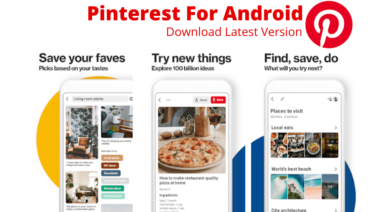 Pinterest APP Download For Android Latest Version