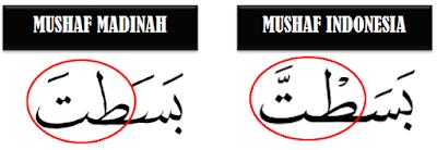tanda baca idgham mutajanisain