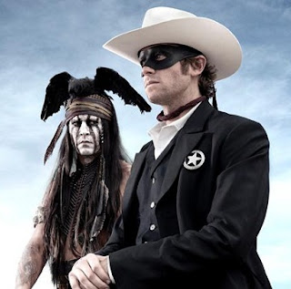 The Lone Ranger Tonto Johnny Depp Armie Hammer Disney