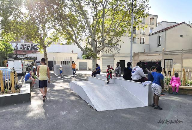 Skate park montreuil croix de chavaux