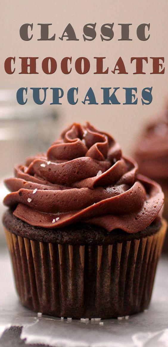 Classic Chocolate Cupcakes
