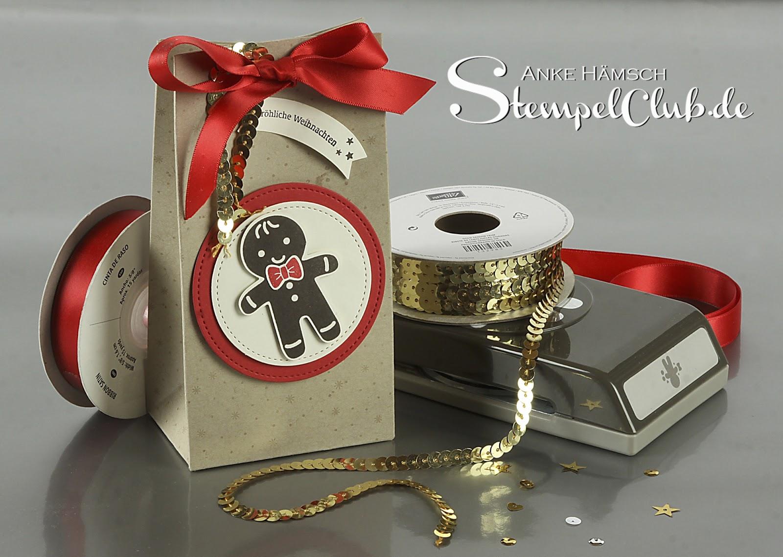 Preisspektakel, Tütenfalzbrett, Gift Bag Punchboard, Stampin up, Tannenzauber, Lebkuchenstanze, Ausgestochen weihnachtlich