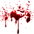 Gotas de sangre imagen en PNG halloween